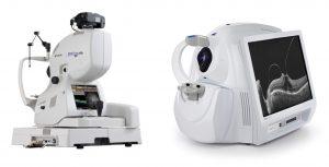 Imagens ilustrativas do aparelho Zeiss Cirrus® 5000 HD-OCT