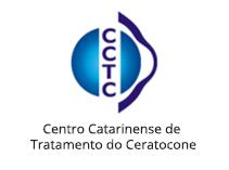 Figura ilustrativa da logomarca do Centro Catarinense de Tratamento do Ceratocone