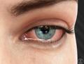 Imagem ilustrativa de olho com entrópio
